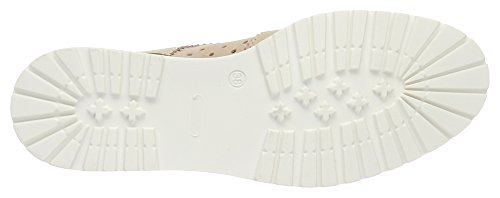 ESPRIT Damen Crissy Lace Up Derby Beige (dusty Nude 275)