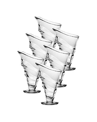 La Rochere Circee Lot de 6 coupes de glace hautes Transparent