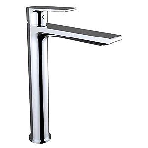 Agora Xtreme – Grifo de lavabo monomando repisa, sistema de ahorro de agua EcoNature