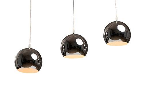 Hängeleuchte Trias lang chrom/Farbe chrom, kupfer oder kupfer gebürstet (Pendelleuchte Hängelampe Deckenlampe Pendellampe Deckenleuchte)