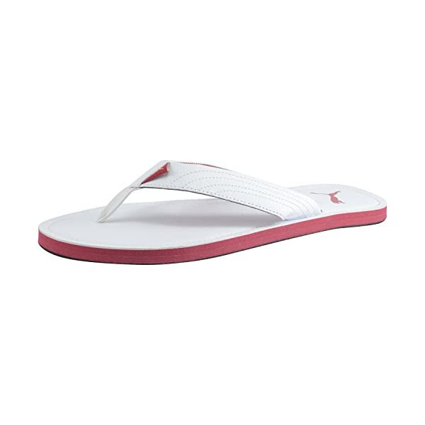 Puma-Mens-White-Synthetic-Leather-Flip-Flops-10