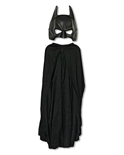 aske mit Cape (Batman Maske Kind)