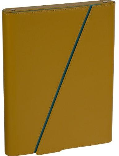 Targus Zee 24,6cm Hard Leder Slip Case für iPad–Senf (Senf Aktentasche)