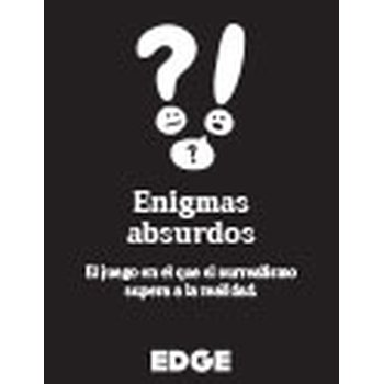 Comprar Edge Entertainment- Enigmas absurdos, Color (Asmodee EDGLA03)