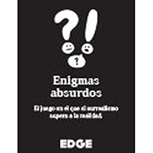 Edge Entertainment- Enigmas absurdos, Color (Asmodee EDGLA03)