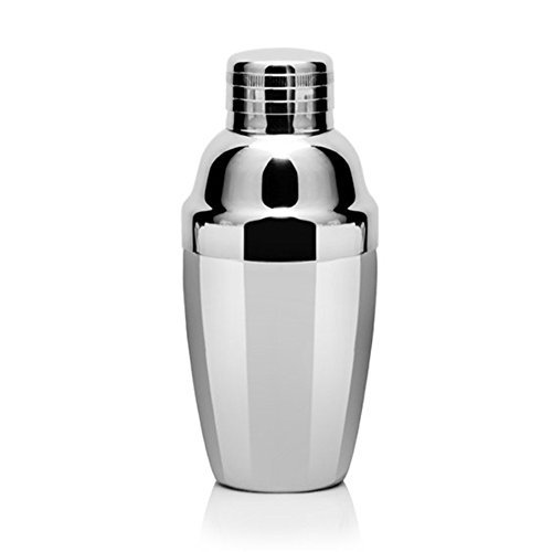 yuxitia 9Unze Mini Haushalt Edelstahl Mini Martini Cocktail Shaker -