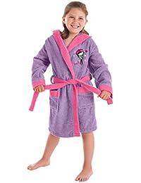 OHQ Kinder Fleece Bademantel Morgenmantel f/ür M/ädchen mit Blumen-Muster Flannel Fleece Pyjamas Nachthemd S/äuglings mit G/ürtel