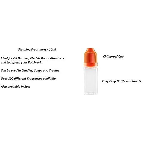 MDB Fragrance Oil–10ml in bottiglia Bambino, colore: arancione - Arancione Tappo Di Bottiglia