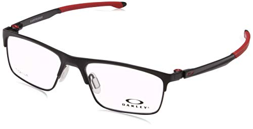 Ray-Ban Herren 0OX5137 Brillengestelle, Mehrfarbig (Satin Black), 52