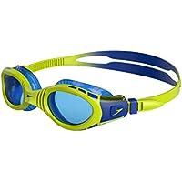 Speedo Futura Biofuse Flexiseal Junior, Gafas de Natación Unisex niños, Multicolor (Verde/Azul), Única (6 - 14 años)