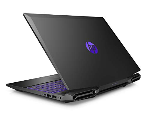 HP Pavilion 15-dk0045TX 2019 15.6-inch Gaming Laptop (ninth Gen Core i5-9300H/8GB/1TB HDD + 256GB SSD/Windows 10/4GB NVIDIA GTX 1050 Graphics), Shadow Black Image 6