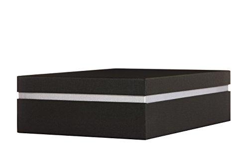 RITTER DESIGN Verpackungen Aufbewahrungsbox Geschenkbox, 32,5 x 23,5 x 9,0 cm passend für DIN A4, qualitativ hochwertige Geschenkverpackung Geschenkkarton gefertigt in deutscher Manufakturarbeit