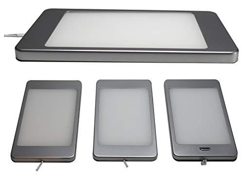 Komerci CL192 LED Unterbau-Set 18W Unterbauleuchten 3-teilig flach warmweiß IR Sensor dimmbar - 3-teilige Sets