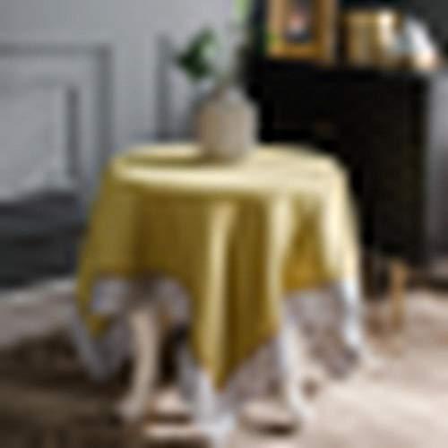 E von Design Botanical 48,3x 48,3cm Gold Blütenmuster Serviette