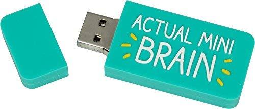 Happy Jackson: 4GB USB 2.0Flash Drive türkis Mini Brain 4 gb - Flash Venom