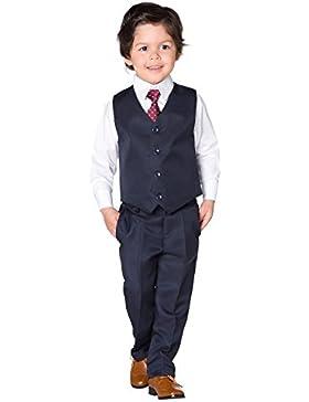 Brillante Penny, niños traje de azul marino, niños chaleco Suit, Página Chico Trajes, 3–6meses–8años