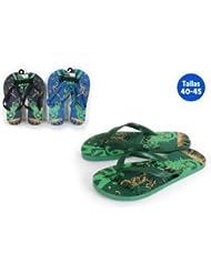 Aquapro Chaussures Plage Motif Dragon Bleu
