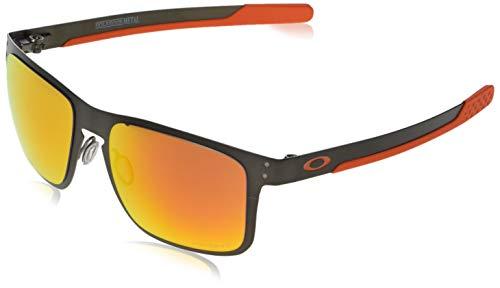 Ray-Ban Herren 0OO4123 Sonnenbrille, Schwarz (Matte Gunmetal), 55