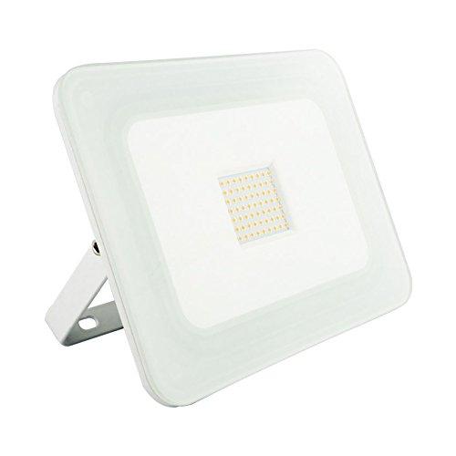 Projecteur LED Extra-Plat 50W Blanc Blanc Neutre 4500K LEDKIA