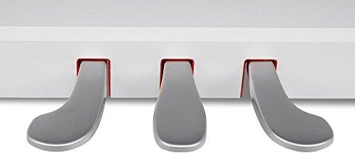 Steinmayer DP-380 WM Digitalpiano (88 Tasten, Holztasten, Hammermechanik, Triple-Sensor-System, LCD, Begleitautomatik, 2 Kopfhöreranschlüsse, 1 Mikrofonanschluss mit eigenen EQ-Einstellungen und Effekten, MP3 Player) weiß matt - 9