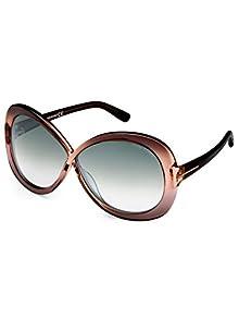 83e277afc62b4 Tom Ford UV Protected Oversized Women Sunglasses - (EC765