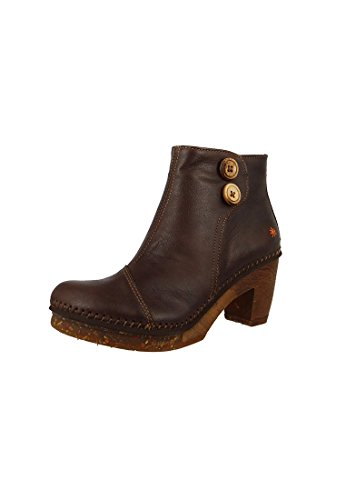 Art Leather Boot Stivali bassi Amsterdam Brown Brau 0362, ART Schuhe Damen:40