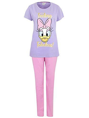 Disney Damen Daisy Duck Schlafanzug Mehrfarbig Medium