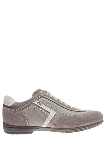 Nero Giardini Homme-Sneaker P603990U 106 Sneaker coscio et tissu Gris - gris