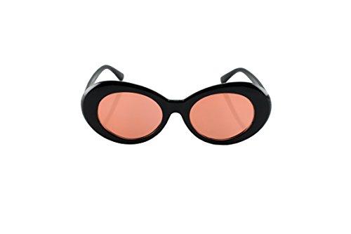 Loomiloo Marken Sonnenbrille für Damen Retro Designer Vintage Frauen Oval 60er Jahre Katzenauge