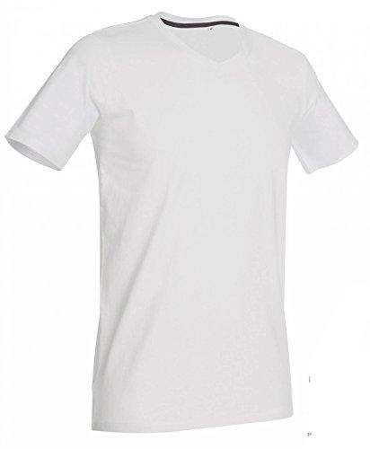 V-Neck T-Shirt Clive White