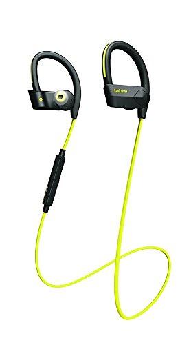 Jabra Sport Pace Wireless Bluetooth Kopfhörer (kabelloser Stereo Sport-Kopfhörer, geeignet für Handy, Smartphone, Tablet und PC) gelb (Reich Handy-fällen)