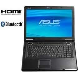 """Asus X71SL-2H7S Intel Core 2 Duo T5850 RAM 3 Go HDD 160 Go DVD±RW (±R DL) NVidia GeForce 9300M GS LAN sans fil : 802.11a.b.g Vista Home Premium 17"""" écran large TFT 1440x900 caméra"""