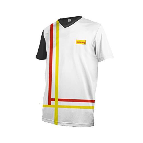 Uglyfrog+ Element Kurzarm MX Jersey Motocross Enduro Cross Motorrad Downhill Atmungsaktiv Polyester Bequem Shirt Deutschland GQX09M