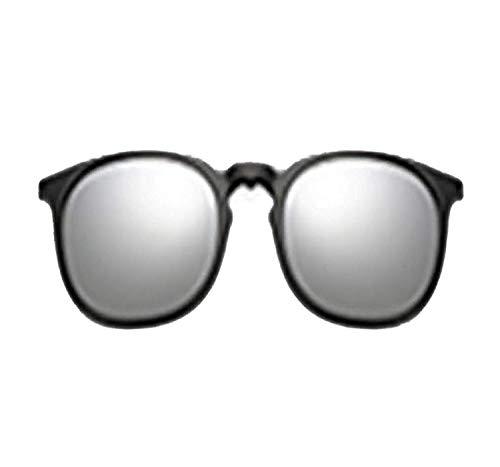 YSA Klassische Sonnenbrille Sport-Sonnenbrille 5 in 1 Multi-Clip Ultraleichte Sonnenbrille für Damen Runde Sonnenbrillen Brillen Sonnenbrillen