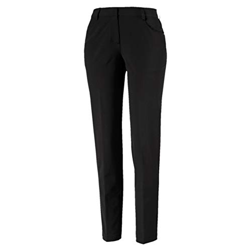 Puma Damen W Stretch Utility Pants Hose Black 38