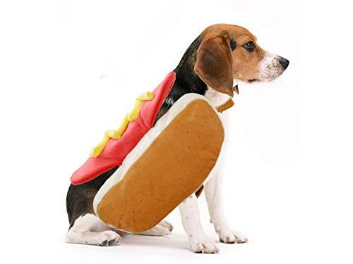 OVVO Pet Kleidung Lustige Hot Dog Pet Kleidung -