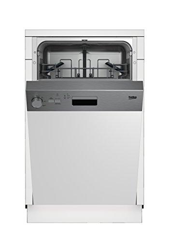 Beko DSS05010X Geschirrspüler Teilintegriert / A+ / 237 kWh/Jahr / 10 MGD / Programmablaufanzeige