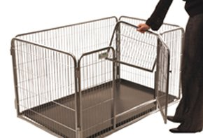 Crufts Safe and Sturdy Freedom Puppy Play Pen - 27 ins high 1