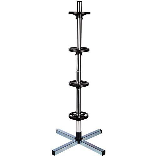 ONVAYA Felgenbaum für 4 Reifen | Reifenständer | Reifenhalter | Felgenständer mit Reifenschutzhülle | Reifenbaum bis 100 kg