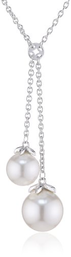 Esprit-Jewels-Damen-Halskette-mit-Anhnger-finery-pearl-925-Sterling-Silber-ESNL92311A400