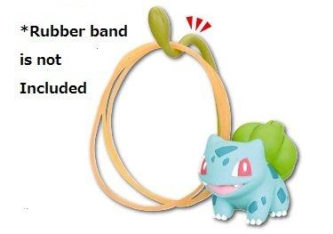 Preisvergleich Produktbild Pokemon X.Y&Z Desk Accessories Mini Figure~Bisasam Bulbizarre Rubber Band Holder