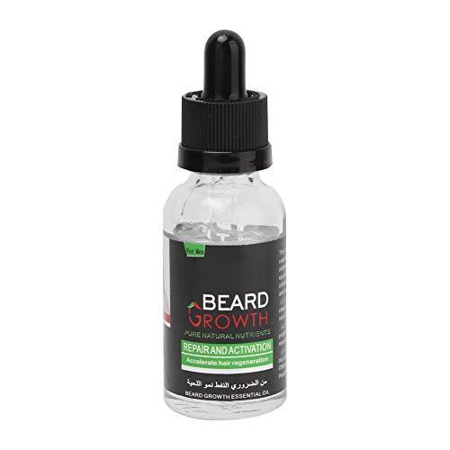 40ml Bartformungsöl, Bartpflege Serum Bart Weiche Nähren Feuchtigkeitsspendende Balsam Bartpflegeöl