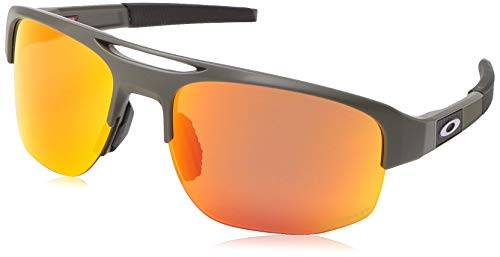 Ray-Ban Herren 0OO9424 Sonnenbrille, Mehrfarbig (Matte Olive), 70