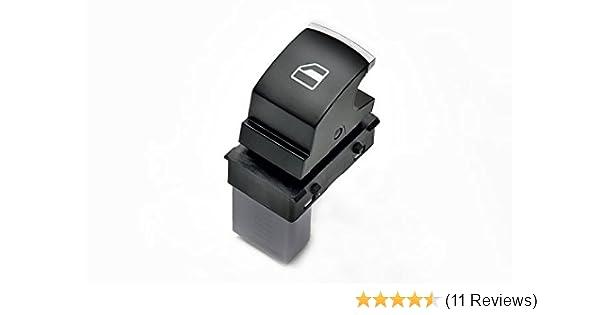 Für VW Jetta 3 Alu Fensterheber Schalter Tank Lichtschalter Spiegelschalter Set