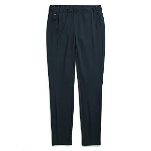 Tommy Hilfiger Damen Seated Fit Stretchy Work Pants Hose, Business/Leger, Masters Navy, X-Groß