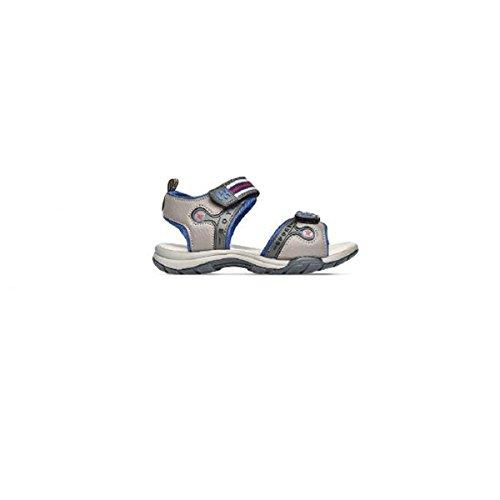 Superga Scarpe Kids Sandali Pelle Grigia S63I278-GRIGIO