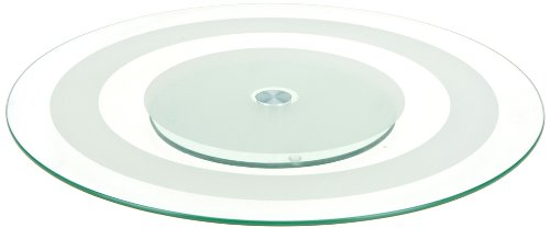 Mazali Ko Serv 170303530 Serving Plate, Glas, clear