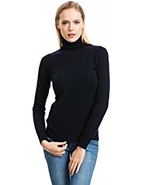 Women's Roll Neck Jumper - 100% Cashmere - by Citizen Cashmere