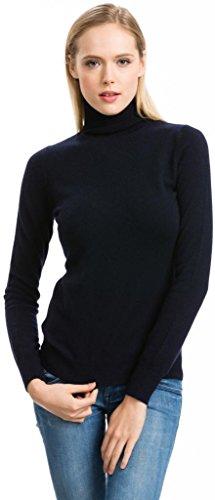 Cashmere Knit Weste (Citizen Cashmere Rollkragenpullover - 100% Kaschmir (Blau XS) 41 104-03-00)