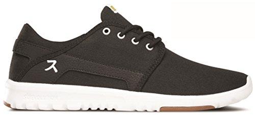 Etnies - Scout Hook Up Sneaker Herren Fitness Black Hallen Schuhe anime Sonderkollektion (schwarz 001)